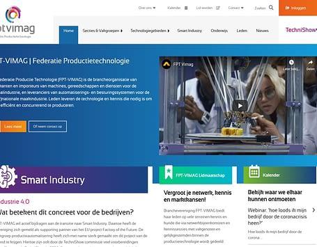FPT-VIMAG presenteert vernieuwde website